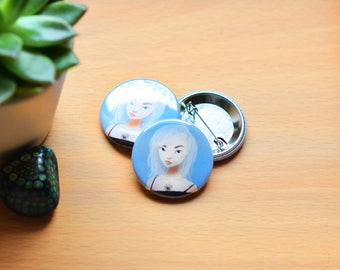 The Cool Girl - Badge