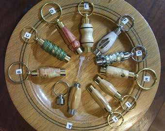 LDS (Mormon) Key Ring Consecrated Oil Vials