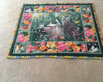 little kitty crib quilt warm up your little bundle of joy