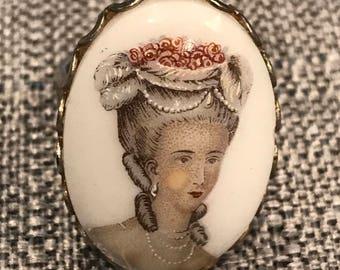 Vintage Victorian Portrait Ring