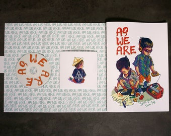 As We Are - A collection of poems, illustrations and songs