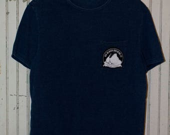 Repurposed T-shirt with Beaver Patch