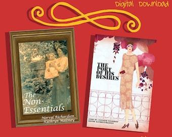 Romance Ebook Novelettes: Non-Essentials & The Port of His Desires.  PDF, EPub, Mobi DIGITAL DOWNLOAD