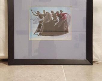 Framed African-American Artwork