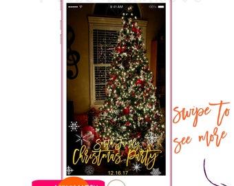 Christmas Snapchat, Filter Christmas, Snapchat Geofilter, Christmas Snapchat, Geofilter, Christmas Filter,Snap Chat Gold, geofiter