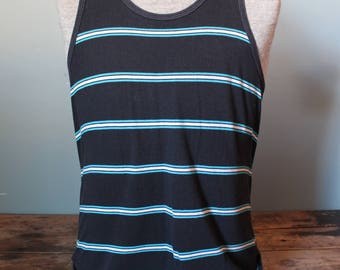 Vintage Tank Top | Rare | Made in USA | 50/50 Cotton poly | Size Medium | Six Star Brand