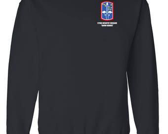 "172nd Infantry Brigade ""Snow Hawks""  Embroidered Sweatshirt-7192"