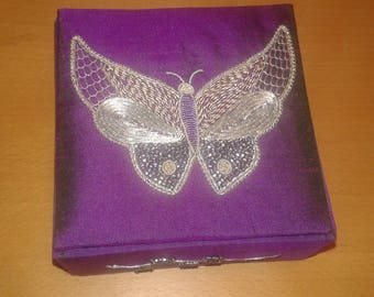 Butterfly decorative box