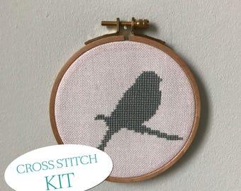little sparrow 1 - cross stitch kit