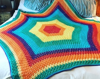Rainbow Sunshine Blanket