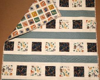 Jungle Animals Handmade Quilt