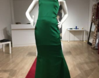Emerald Green Gown - Prom Perfect