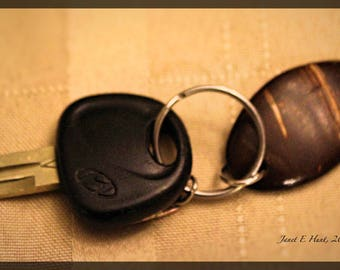 Coconut Key Chain Holder