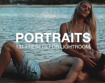 Portrait Presets Lightroom Bundle, VSCOcam Presets, Photo Editing Retouching, Modern Faded Presets, Wedding Presets, Senior Presets