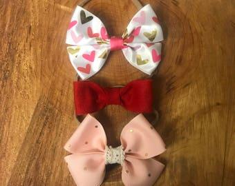 Baby Bow Headband  - 3 set