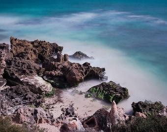 Beach Print, Beach, Water, Beach Photo