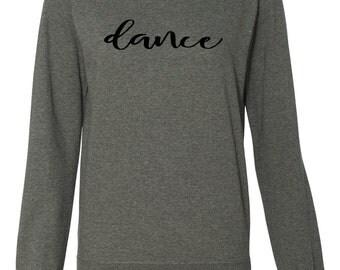 Women's Lightweight Crewneck Dance Sweatshirt