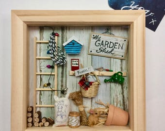 The Garden Shed Memory Box