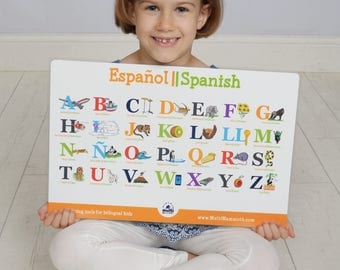 Spanish English bilingual alphabet