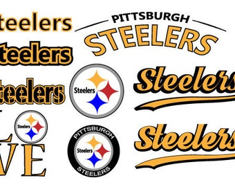 Pittsburg Steelers  Nfl  SVG PNG DXF File football svg files, cricut, silhouette cut file  Vector Cut File