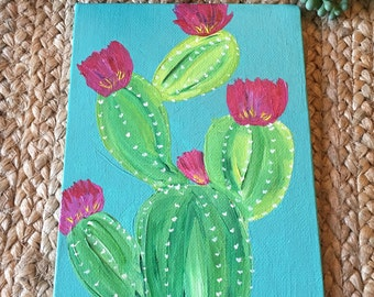 Turquoise Prickly Pear