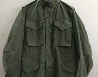 Super rare vintage us army Alpha industries winter coat
