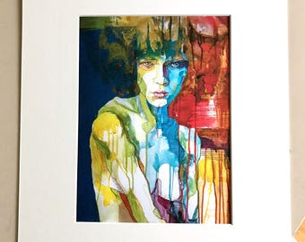 "Fine Art Print ""Tanja"" - 30x24cm with Passpartout"
