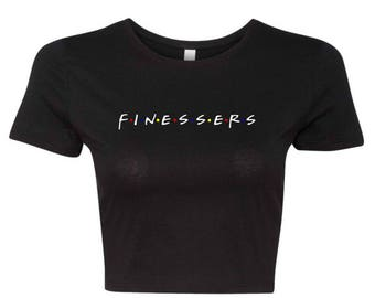 Finessers | Black Crop