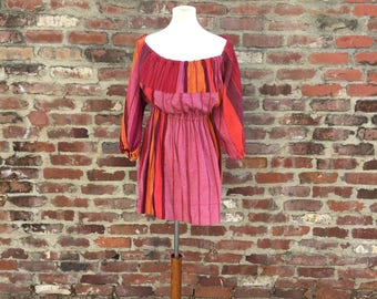 1970's Off The Shoulder Tunic