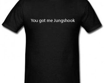 You got me JungShook Tee - BTS Jungkook - Hoodie/Crop Jumper/Crop Hoodie