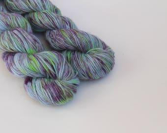 """100 % alpaca Colourway """"Blue Dream"""", 50 g- 165 m, Handdyed yarn, indiedyed yarn, пряжа ручного крашения, пряжа ручной работы, yarn"""