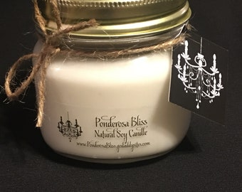 Natural Soy Wax Candles, Scented