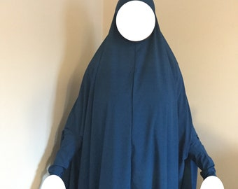 Long Prayer Hijabs with Sleeves - one size