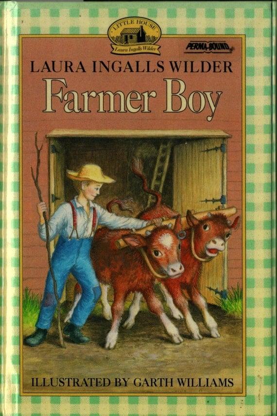 Farmer Boy - Laura Ingalls Wilder - Garth Williams - 1971 - Vintage Kids Book