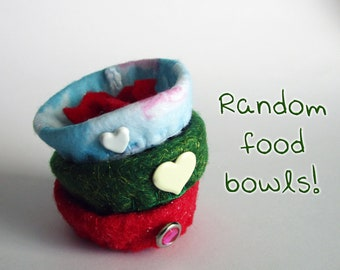 Puff Puggles Accessories - Food Bowls