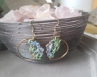 Cottage Garden earrings