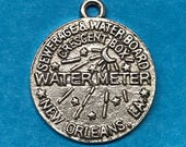 New Orleans Water Meter Charm - Cake Pull - Silver or Gold