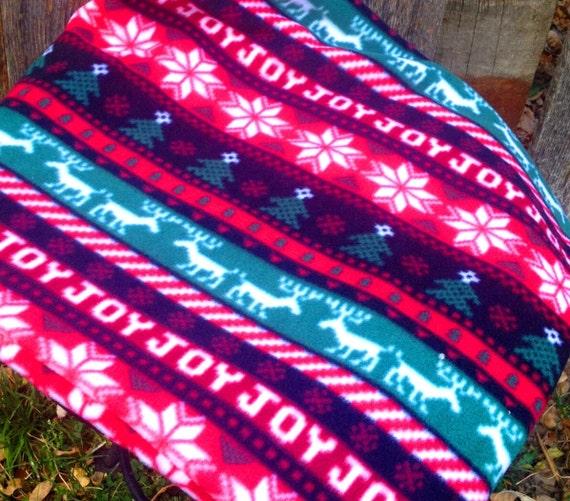 Christmas pet blanket Reindeer Snowflake dog blanket Fair