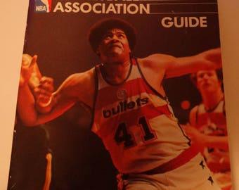 1978-79 Official National Basketball Association Guide Book, Truck Robinson, Julius Erving, Bill Walton, Team Playoffs, All Star Teams