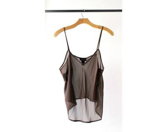 1990s See Through Camisole Top