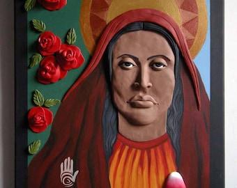 La Magdalena with Roses