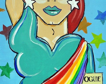 Mother Liberty/LGBTQ/Equality/Pride/Drag Queen