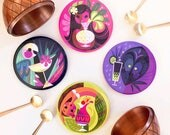 Tropical Cocktail Coaster Set of 4