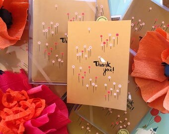 Field of Poppies Boxed Thank You Cards (set of 8)