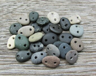 TINY CONNECTORS Natural Stone Connectors Beach Stone Bulk Supply LINKS