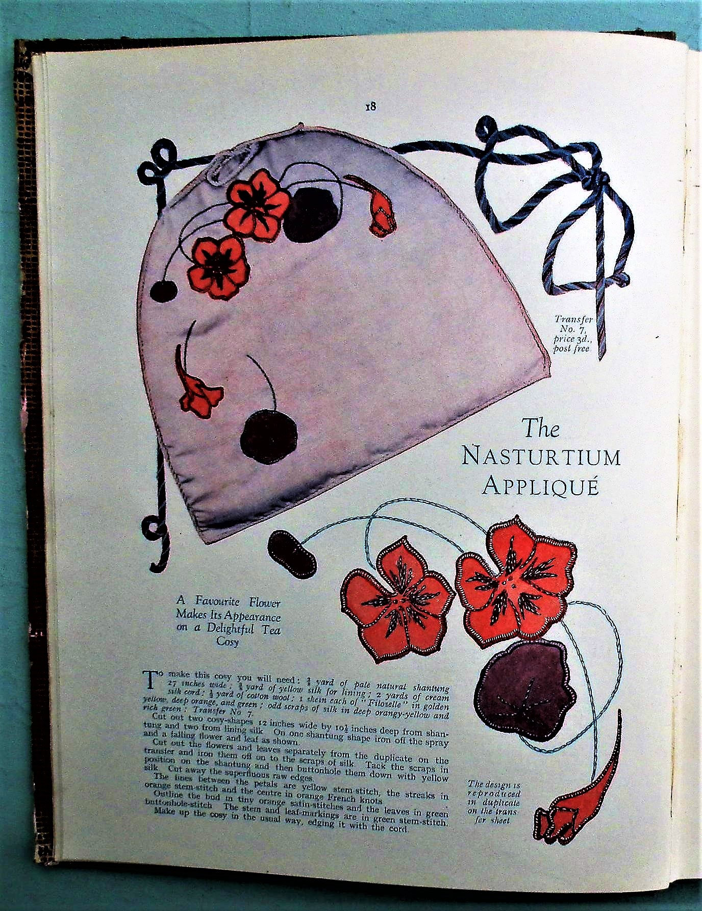 Vintage Sewing Book 1920s 1930s Knitting Patterns Good