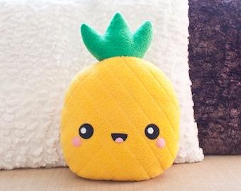 NEW ! KAWAII Pineapple Fleece Plush - Soft and Plushie *Christmas Gift*