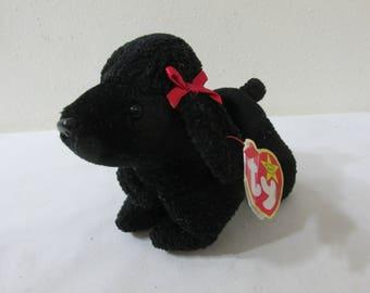 Beanie Baby Black Poodle Gigi April 7 1997