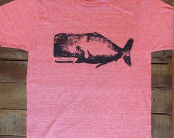 Sperm WHALE T-shirt Made in USA