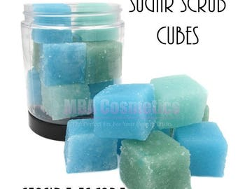 Sugar Scrub Cubes-Seaside Escape
